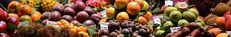 Fruits on marketplace